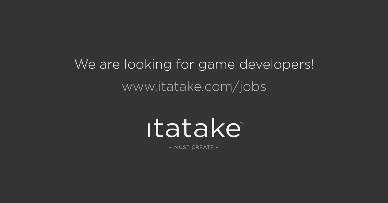 We are looking for game developers